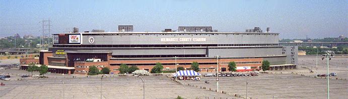 County Stadium Exterior