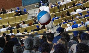 Beach Ball at Dodger Stadium