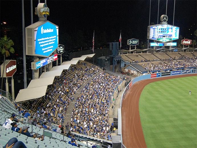 Dodger Stadium Bleachers