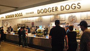 Dodger Dog Stand, Dodger Stadium