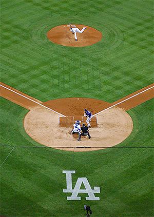 Dodger Stadium from Upper Deck