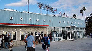 Dodger Stadium Main gate
