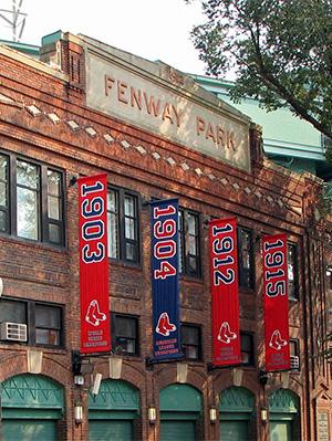 Fenway Park facade