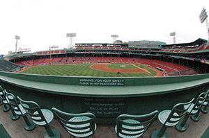 Green Monster Seats at Fenway Park