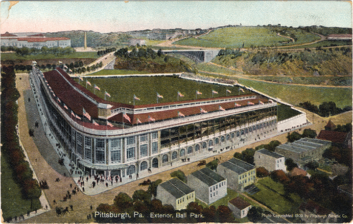 Early Postcard of Forbes Field