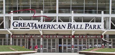 Great American Ball Park entrance