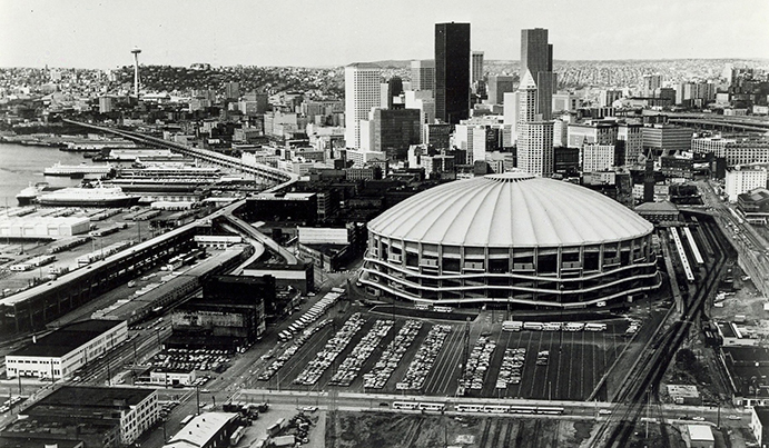 Kingdome Aerial