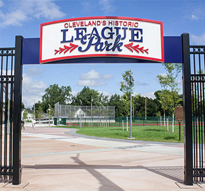 Entry to League Park Today
