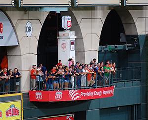 Minute Maid Park Balcony, left field