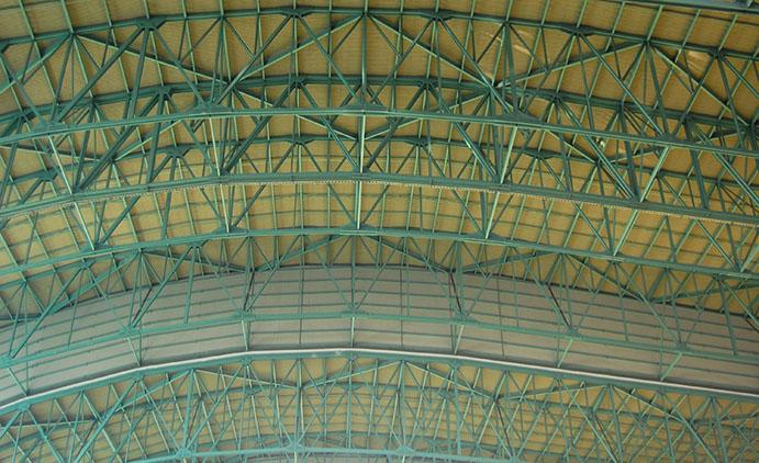 Minute Maid Park ceiling