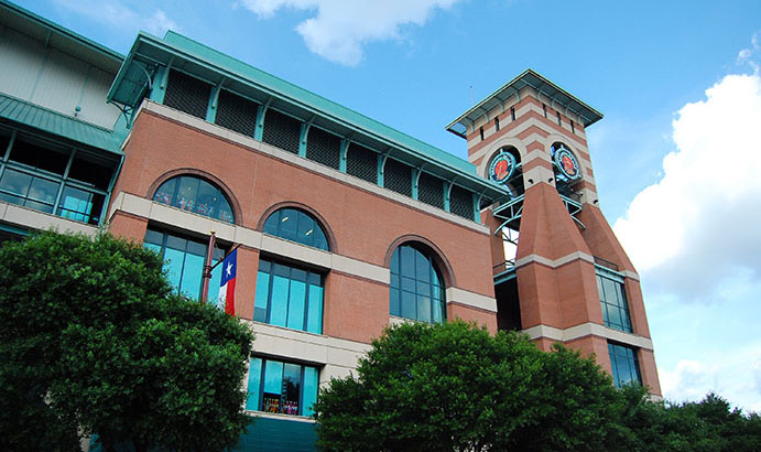 Minute Maid Park Clock Tower