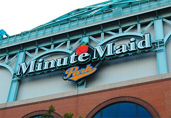 Minute Maid Park Entrance