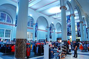 Inside Union Station, Minute Maid Park