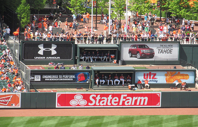 Oriole Park at Camden Yards Bullpens