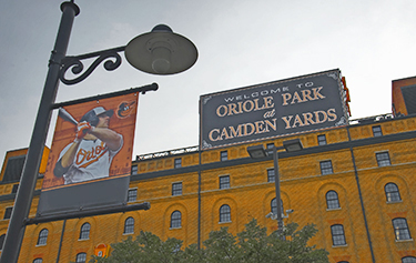 Oriole Park at Camden Yards Signage