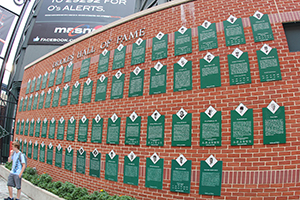 Wall of Fame, Oriole Park at Camden Yards