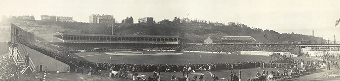 The Polo Grounds in 1905