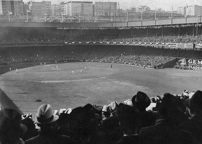 Polo Grounds, 1923 World Series