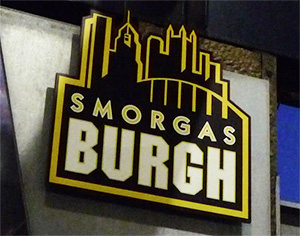 Smorgasburgh sign, PNC Park