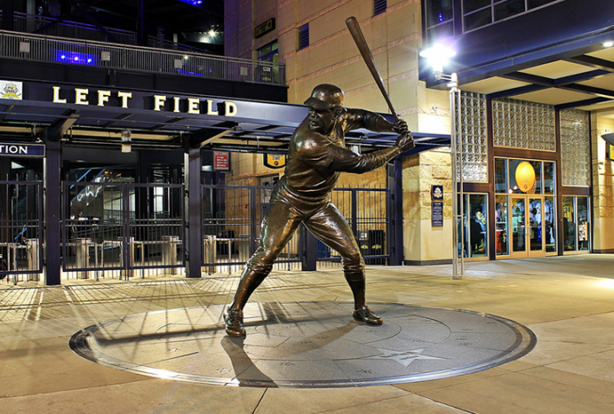 Willie Stargell statue at PNC Park