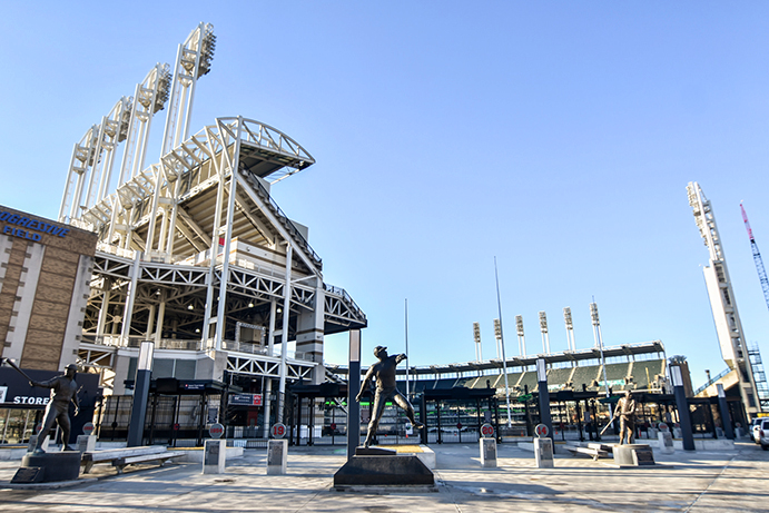 Center Field Gate at Progressive Field