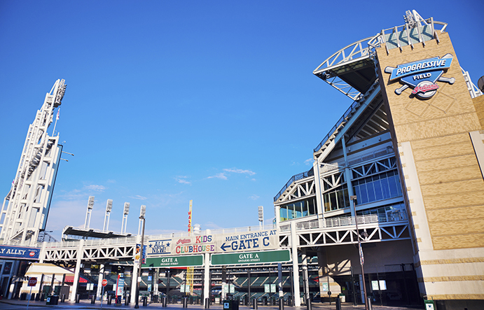 Gate A at Progressive Field