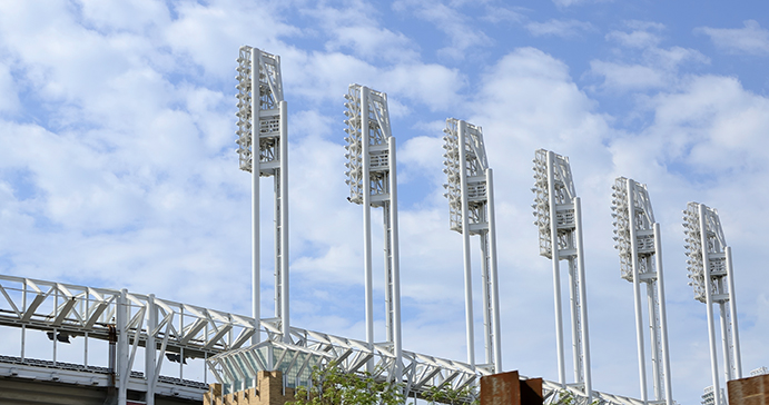 Progressive Field Lights