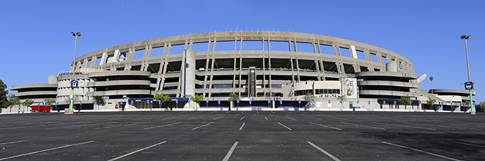 Qualcomm Stadium Exterior
