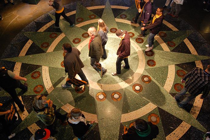 Compass tiling, T-Mobile Park
