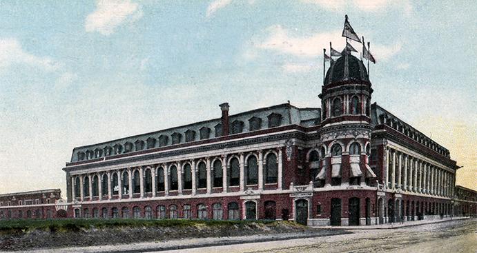 Shibe Park Exterior 1909