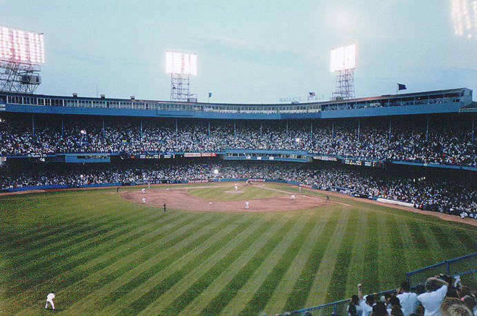 Last Pitch thrown at Tiger Stadium, 1999