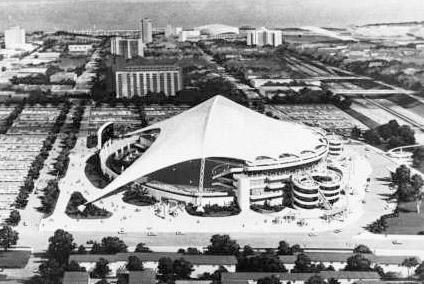 Early Rendering of St. Petersburg stadium