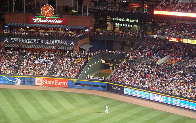 Turner Field Bullpen and Chop House