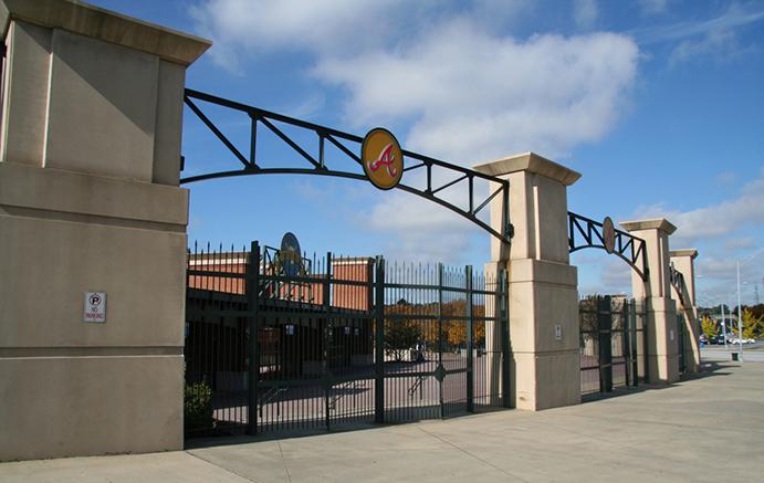 Turner Field Plaza Gate