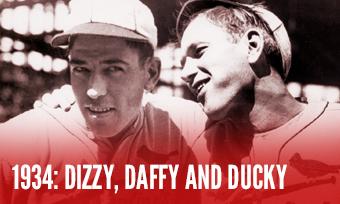 1934 Baseball History