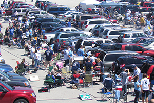 Tailgating at American Family Field