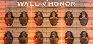 Brewers Wall of Honor at American Family Field